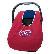 NHL Infant Car Seat Carrier Cover or Bunting Bag for Baby Montreal Canadiens