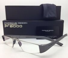 New Reader! PORSCHE DESIGN Eyeglasses P'8801 F 48-20 +1.50 Silver Frame Readers