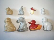 KINDER SURPRISE SET - DOMESTIC ANIMALS WITH BABYS 1997 FIGURES TOYS COLLECTIBLES
