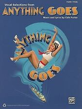 Anything Goes: Vocal Selections Piano/Vocal by