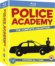 Police Academy 1-7: The Complete Collection [Blu-ray] Free shipping Brand New