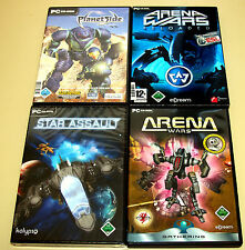 PC SPIELE SAMMLUNG ARENA WARS RELOADED STAR ASSAULT PLANETSIDE -- RTS STRATEGIE