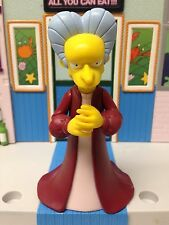 Playmates The Simpsons World of Springfield WoS Dracula Mr Burns Figure