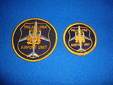 Philadelphia Police Airport Unit Patch Set of Two New Old Stock