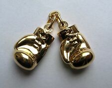 9ct Gold Large Lightweight pair of Boxing Glove Pendant 3g