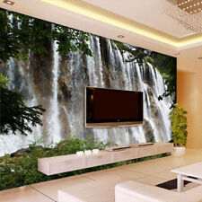 3D Wallpaper Bedroom Mural waterfall scenery TV Background Wall BJ1090