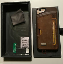 "CM4 Wallet Genuine Leather Q Card Case for iPhone 6/6s (4.7"") Cover Brown"