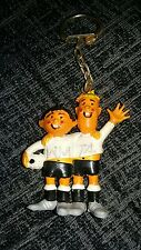 ULTRA RARE Germany 1974 World Cup Football keyring Tip & Tap soccer mascot WM 74