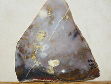 536  POLKA DOT AGATE SLAB. TAKES A GREAT POLISH,  MAKES BEAUTIFUL CABS