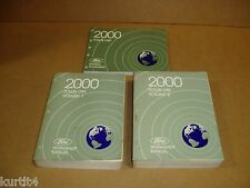 2000 Lincoln Town Car service shop wiring electrical dealer manual NICE SET
