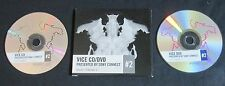 KINGS OF LEON/DOVES/M83 'VICE VOL 12 #2' 2005 PROMO CD/DVD SET—CHEMICAL BROTHERS