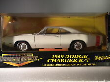 ERTL 1969 Dodge Charger White LE # 32260 1:18 Scale NIB JM 71F