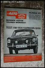 AMS Auto Motor Sport 10/62 VW 1500 Karmann Ghia Coupe Mini
