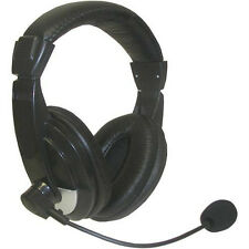 Stereo Headset Microphone / Headphone with 3.5mm for Desktop PC Laptop Computer