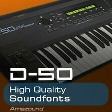 ROLAND D50 SOUNDFONT COLLECTION 64 .sf2 FILES 1170 SAMPLES AMAZING QUALITY