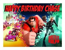 Wreck it Ralph edible image decoration party cake topper frosting sheet