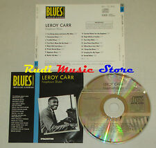 CD LEROY CARR Naptown blues BLUES COLLECTION 1993 DeAGOSTINI mc lp dvd vhs