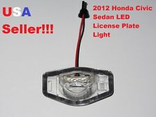 2012 Honda Civic Sedan and Coupe LED License Plate Light Lamp Exact Fit 6000K
