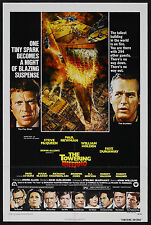 THE TOWERING INFERNO orig 1974 one sheet movie poster PAUL NEWMAN/STEVE MCQUEEN
