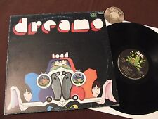 LP Dreams Toad Italy 1975 PROMO STICKER ON LABEL | M- to EX
