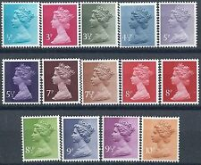 K089) Great Britain-Machin. 1971/80. MNH. Small Collection.