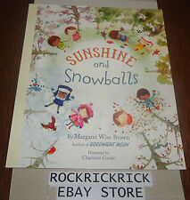 MY STORY TIME LIBRARY BOOK - SUNSHINE AND SNOWBALLS -BRAND NEW-