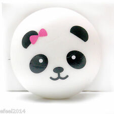 1PCS Soft Squishy Charms Buns Cell Phone Charm Panda Strap Pendant 5CM