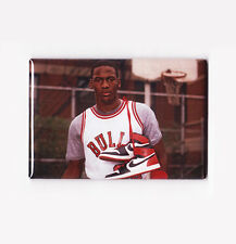 MICHAEL JORDAN / ROOKIE - POSTER FRIDGE MAGNET (nike air costacos nba 2 3 4 5 6)