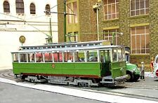 0 Gauge Llandudno & Colwyn Bay Single deck Trams 17 or 18, O gauge Card Kit
