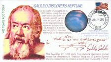 """COVERSCAPE computer designed 400th Galileo """"discovers"""" Neptune event cover"""