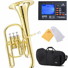 NEW BAND STUDENT Eb ALTO HORN w/ Stainless Steel Valve