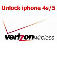 OFFICIAL Factory Unlock for iPhone locked USA Verizon 4 4s 5 5s 5c 1 day service