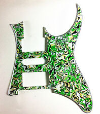 4 Ply Guitar Pickguard for Ibanez RG–Green Pearl
