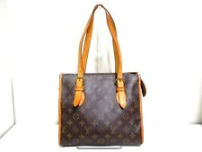 Authentic LOUIS VUITTON Monogram Popincourt Haut M40007 Shoulder Bag FL1098