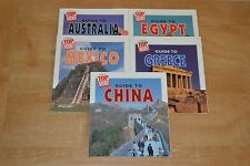 Lot of 5 Highlights Top Secret Adventures Paperback Books Guide to Greece China