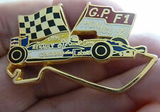 PIN'S F1 FORMULA ONE WILLIAMS RENAULT GRAND PRIX DE MONACO 92 CHRONO ZAMAC