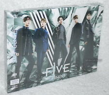 SHINee FIVE 2017 Taiwan Ltd CD+DVD+48P booklet+Card (digipak)
