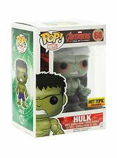 Funko Pop Marvel Rampaging Hulk Red Blood Shot Eyes Hot Topic Exclusive