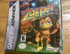 Zapper One Wicked Cricket Gameboy Game Boy Advance GBA Sealed New in Package