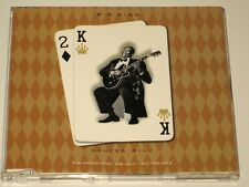 BB KING - CD SINGLE - DEUCES WILD - RARE AUSSIE 3 TRACK