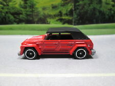 VW VOLKSWAGEN THING TYPE 181 (red)  NEW 2015 5 CAR PACK