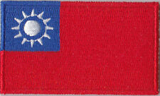 Taiwan Flag Embroidered Patch T4