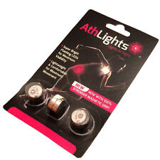 Athlights Supergrip Magnetic Flashing Running and Biking Safety Lights - 2-Pack
