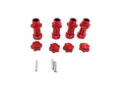 1SET Aluminum 17mm Wheel Hex Hub Extension Adapter 30mm For 1:8 Scale RC Car