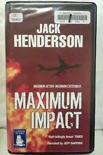 Maximum Impact by Jack Henderson: Unabridged Cassette Audiobook (Q3)