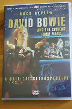 Rare David Bowie Rock Review Spiders From Mars Region 0 Exc 2005 DVD