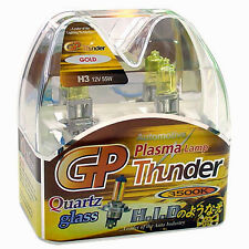 Authentic GP Thunder H3 Golden Yellow 3500K Xenon Plasma Head Fog DRL Light Bulb