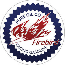Pure Oil Co., Firebird Racing Gasoline Sign