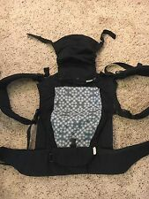 Beco Gemini Baby Carrier Multi-Position Infant/Toddler Gray Floral EUC!!!