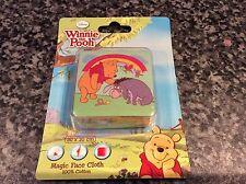 BNIB Nuevo Sellado Disney Winnie The Pooh & Eeyore Magic Toalla facecloth Franela